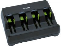 Zebra battery charging station, 4 slots