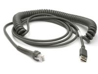 Cable USB 15 ft, coiled