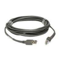 Cable USB (type A), 15 ft, straight